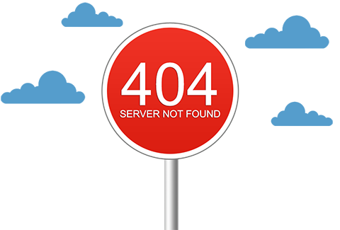 Error 404: Server not found